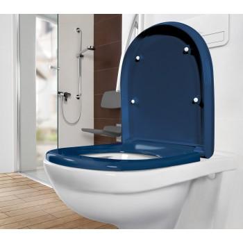 Toilet seat and cover Vita Oval O.novo Vita, 9M67S1,