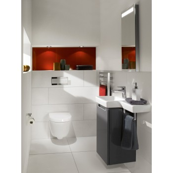 Toilet seat and cover Compact Oval Subway 2.0, 9M69S1,