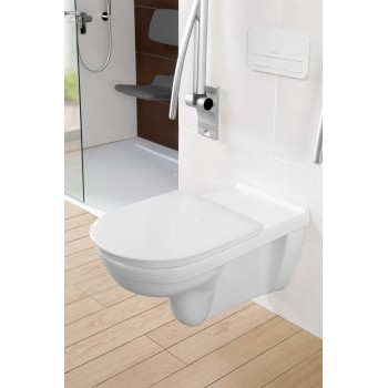 Toilet seat and cover Vita Oval O.novo Vita, 9M7261,