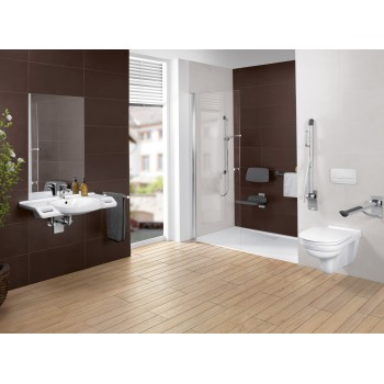 Toilet seat and cover Vita Oval O.novo Vita, 9M7261,