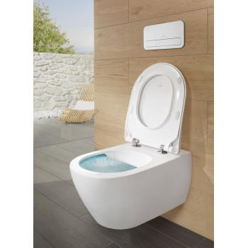 Toilet seat and cover SlimSeat Oval Subway 2.0, 9M78S1,