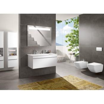Toilet seat and cover SlimSeat (Wrapover) Rectangle Venticello, 9M79S1,