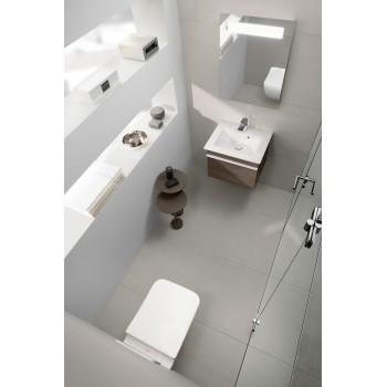 Toilet seat and cover SlimSeat LINE (Sandwich) Rectangle Venticello, 9M80S1,