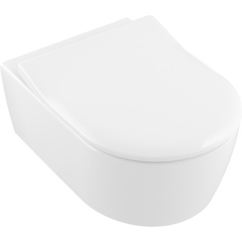 Toilet seat and cover SlimSeat Oval Avento, 9M87S1,