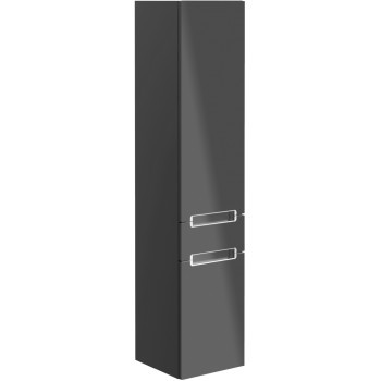 Tall cabinet Angular Subway 2.0, A70700, 350 x 1650 x 370 mm