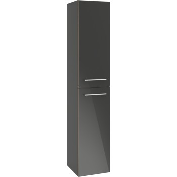 Tall cabinet Angular Avento, A89400, 350 x 1760 x 372 mm