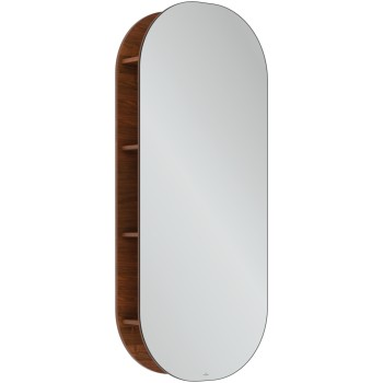 Mirror shelf Oval Antheus, B30600, 600 x 1400 x 178 mm