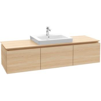 Vanity unit Angular Legato, B68400, 1400 x 380 x 500 mm