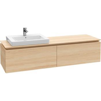 Vanity unit Angular Legato, B68800, 1600 x 380 x 500 mm