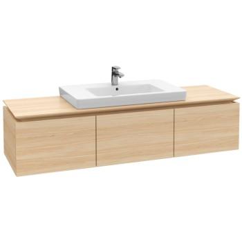 Vanity unit Angular Legato, B70000, 1600 x 380 x 500 mm