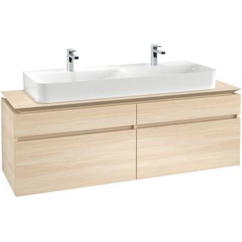 Vanity unit Angular Legato, B73600, 1600 x 550 x 500 mm