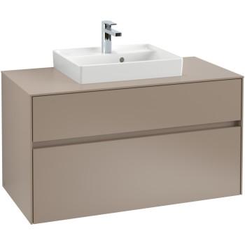 Vanity unit Angular Collaro, C01600, 1000 x 548 x 500 mm