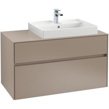Vanity unit Angular Collaro, C01800, 1000 x 548 x 500 mm