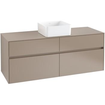 Vanity unit Angular Collaro, C04500, 1400 x 548 x 500 mm