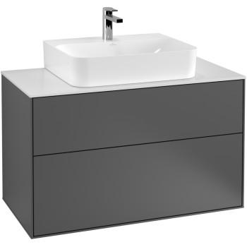 Vanity unit Angular Finion, F10, 1000 x 603 x 501 mm