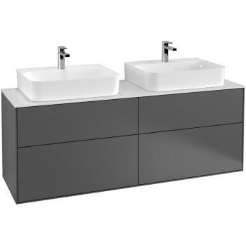 Vanity unit Angular Finion, F18, 1600 x 603 x 501 mm
