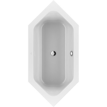 Bath Hexagonal Loop & Friends, UBA199LFS6V, 1900 x 900 mm
