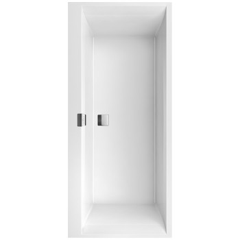 Bath Rectangular Squaro Edge 12, UBQ170SQE2DV, 1700 x 750 mm