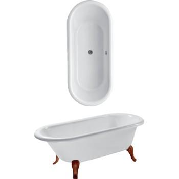 Bath Free-standing Hommage, UBQ180HOM700V, 1771 x 771 mm