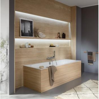 Bath Rectangular Oberon 2.0, UBQ180OBR2DV, 1800 x 800 mm
