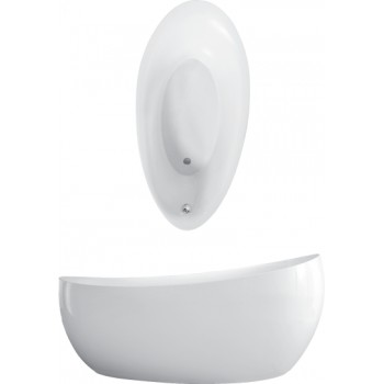 Bath Free-standing Aveo new generation, UBQ194AVE9W1BCV, 1900 x 950 mm