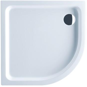 Shower tray Quarter circle O.novo, UDA0906DEN4V, 900 x 900 x 60 mm