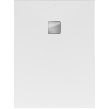 RockLite shower tray Rectangular Planeo, UDA9075PLA2V, 900 x 750 x 40 mm