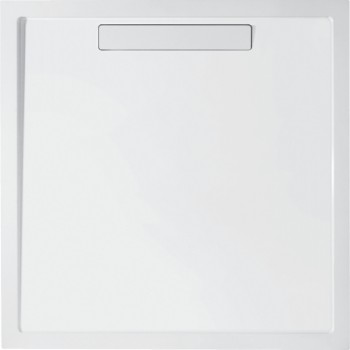 Shower tray Square Squaro, UDQ0910SQR1V, 900 x 900 x 18 mm