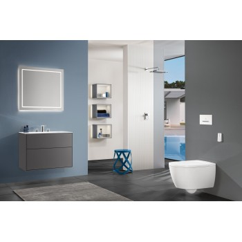 Shower tray Squaro Infinity, UDQ9090SQI1V, 900 x 900 x 40 mm