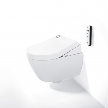 Electronic bidet seat Oval ViClean, V01EU8, 392 x 134 x 547 mm