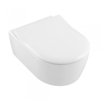 Set vas WC suspendat Avento Villeroy & Boch Villeroy&Boch DirectFlush cu capac soft  5656RS01 - 1