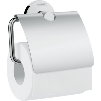 Hansgrohe Logis Universal roll holder w/ cover