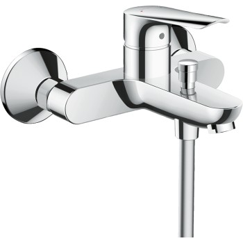 Hansgrohe Logis E exposed bath mixer chrome